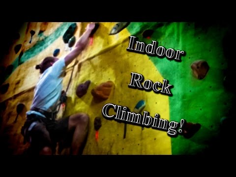 My First Time Doing Indoor Rock Climbing!