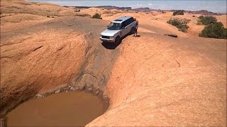 Download Range Rover on Hell's Revenge - Moab Offroad GoPro 3Gp Mp4
