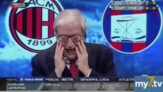 """DirettaStadio 7Gold Milan Crotone 1-0 Tiziano Crudeli: """"UCCI UCCI sento odore di BONUCCI."""""""