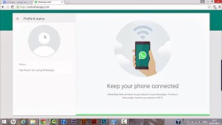 How to Install WhatsApp Web For Desktop and Laptops.