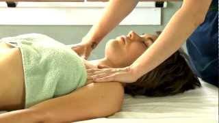 Arm, Chest & Shoulder Massage Therapy How To | Jen Hilman Austin Massage Therapist ASMR Massage