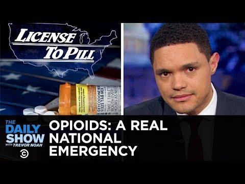 The Opioid Crisis: Trump Blames Mexico & Big Pharma Blames Addicts   The Daily Show
