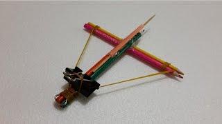 How to make a pencil gun - Best Kids life hacks