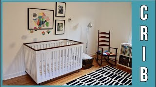 How to Build a 3-in-1 Convertible Crib - BUILD Video