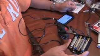 How to make an AA battery backup power supply to charge your smartphone cellphone using AA Batteries