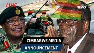 Zimbabwe State Of Nation Address By President Robert Mugabe, 19 November 2017
