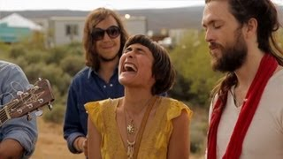 Edward Sharpe & The Magnetic Zeros - Home LIVE (Road Trippin