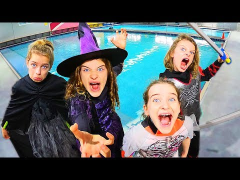 COSTUME POOL GAMES Halloween Challenge By The Norris Nuts