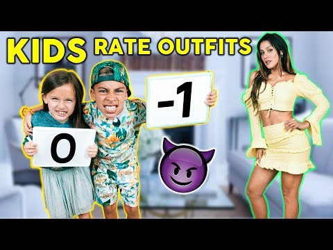 KIDS REACT To PARENT S OUTFITS Bad Idea The Royalty Family