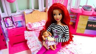 Ariel mom and baby