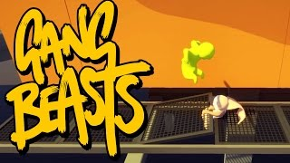 Gang Beasts - CHOP YOU IN HALF!!! [Father and Son Gameplay]