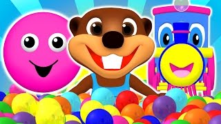 """Baby Pop"" Learn Colors, Shapes, ABCs Alphabet & Nursery Rhymes 