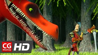 """CGI Animated Short Film """"Song of The Knight Short Film"""" by Steven Ray"""