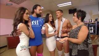 The Bella Twins make a surprise return to WWE: Raw, March 11, 2013