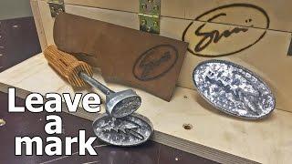 Making a burn stamp / branding iron w/o CNC or welder