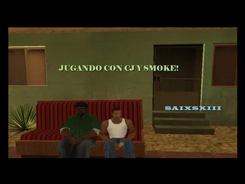 GTA SAN ANDREAS JUGANDO CON CJ Y SMOKE // METAL SLUG X (LOQUENDO)