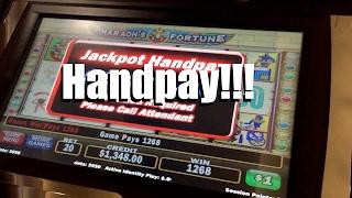 IGT Pharaoh's Fortune Slot: Bonus High Limit HANDPAY