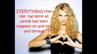 Our song-Taylor Swift LYRICS