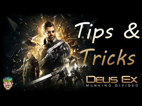 Deus Ex Mankind Divided Tips & Tricks Beginners Guide Tutorial