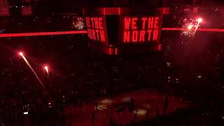 Toronto Raptors - NBA Finals Player Intros (Game 1 2019)