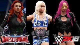 WWE WrestleMania 32: Charlotte vs. Becky Lynch vs. Sasha Banks (Divas Championship)