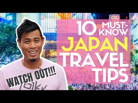 10 Must Know JAPAN Travel Tips No One Talks about like POLICE