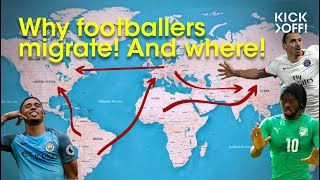 WHY Footballers Migrate! And where!