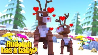 RUDOLPH HAS A BABY!! w/Little Carly and Little Kelly (Christmas Adventure 3).