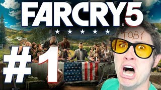 FAR CRY 5 -  ep. 1 THE FATHER IS CREEPY - TobyGames
