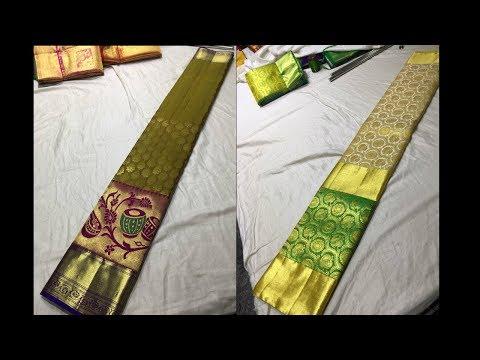 25 NEW Designs in Kanchipuram Silk Sarees Online Shopping For Wedding