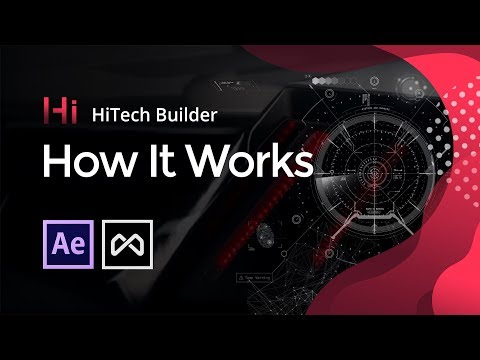 HiTech HUD Builder | Tutorial: How It Works | FREE After Effects HUD Elements Plugin