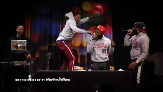 The 85 South Show Live Cashville Roast Session Part 1 w/ DC Young Fly Karlous Miller Chico Bean