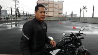 First RIDE Honda REBEL500 @Honda Bigwing RAMA5