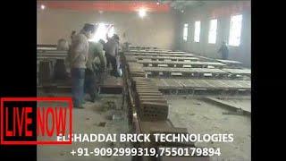 Latest Technology Clay Brick Making  Machine Tunnel Kiln #SON