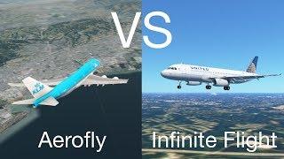 Aerofly FS 2 VS Infinite Flight
