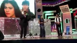 Mohanlal and Rimi Tomy performance with SRK & Ujala Asianet Film Awards 2014