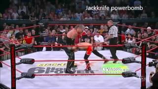 jackknife powerbomb vs blue thunder bomb