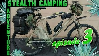 Stealth Camping on side of Road⛺Low Profile Stealth Tarp Setups⛺Customizing Camp Spot