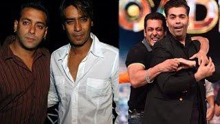Salman & Ajay Face Friendship Crisis Because Of Karan Johar | Bollywood News