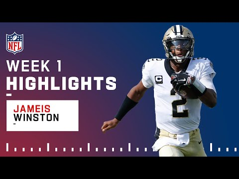 Jameis Winston Pops Off w 5 TD Passes in Big Win NFL 2021 Highlights