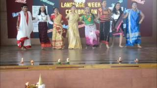 Assamese Diwas  Dance on 7 sisters  NE