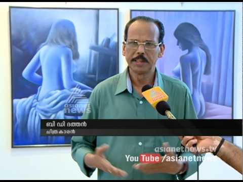 BD Dettan's 'Nude Complexion-two'   Painting Exhibition
