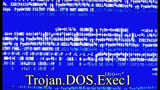 Trojan.DOS.Exec1 (flashing lights warning) - Viewer-Made Malware 15