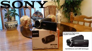 Sony Handycam HDR-CX240 Unboxing & Review