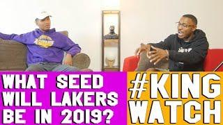 What Seed Will Lakers Be in 2019 ? | Hoops N Brews