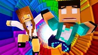 Minecraft - The Dropper #1 A BIBI DESISTIU !!!
