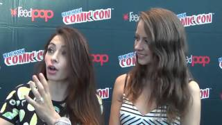 PERSON OF INTEREST's Amy Acker & Sarah Shahi on Season 5