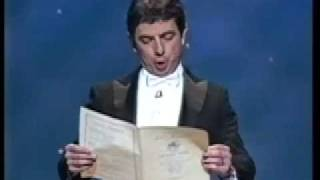 Rowan Atkinson (Mr. Bean) European Anthem - 'Beethoven's 9th Symphony'
