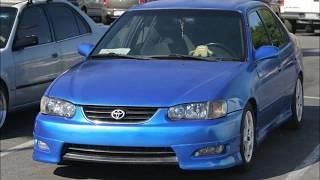 2001 Toyota Corolla LE build slide show