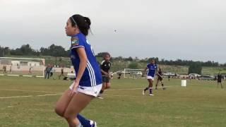 Girls fight in soccer (intense)